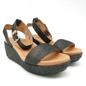 Gentle Souls Womans Morrie Ankle Strap Sandal NEW